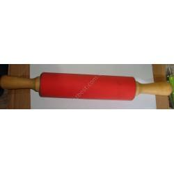 N-1349 Скалка силиконовая/деревянная