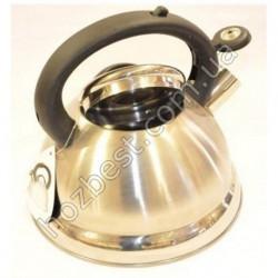 N-1835 Чайник из нержавеющей стали со свистком (2,2л).