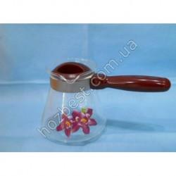 N-1850 Турка для кофе - 600 мл (огнеупорное стекло).