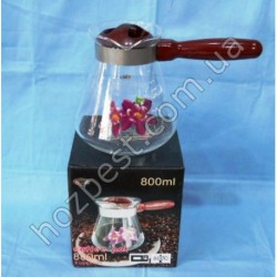 N-1851 Турка для кофе - 800 мл (огнеупорное стекло).