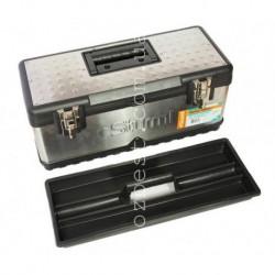 "N-2807 Ящик для инструментов металический 21"" 500х230х220мм двухстор.крышка Sturm! TBM001"