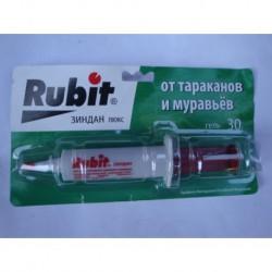 N-3065 Средство от тараканов Рубит Зиндан, шприц-гель, 30г.
