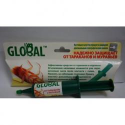 N-3067 Global гель-шприц 40 г от тараканов