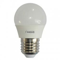 N-3087 Светодиодные лампы с цоколем е27 Sirius G45 5W шар нейтральный свет