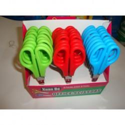 N-3174 Ножницы цветные 24шт