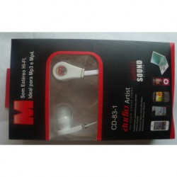 N-3395 Наушники audio artist cd-83-1