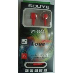 N-3398 Наушники вакуумные Souye SY-6933