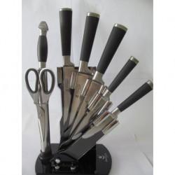 N-3496 Набор ножей 8pcs Черный