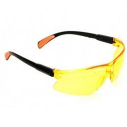 N-3616 Очки защитные с выдвижной дужкой желтые маленькие