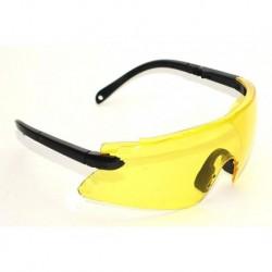 N-3617 Очки защитные с выдвижной дужкой желтые