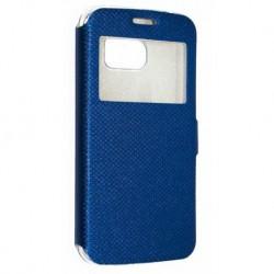 Чехол-книжка для Samsung Galaxy S6 Edge (G925), синий
