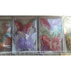 4012 Магнит на холодильник бабочка (пачка 24шт)