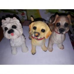 N-4520 Керамические статуэтки собаки