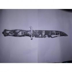 N4552 Нож охотничий
