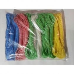 N-521 Веревка цветная