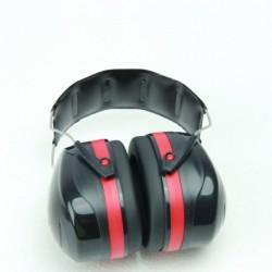 N-5802 Наушники шумозащитные 32dB красные усиленные