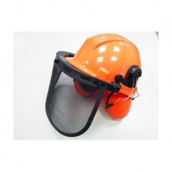 N-3637 Шлем защитный с щетком и наушникми