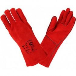 N-5804 Перчатки краги (красные)