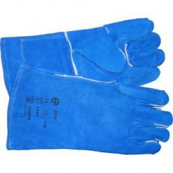 N-5805 Перчатки краги (синие)