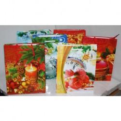 N-5771 Пакет новогодний 18х22х8 см