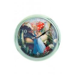 N-5603 Часы настенные детские Алиса в стране чудес