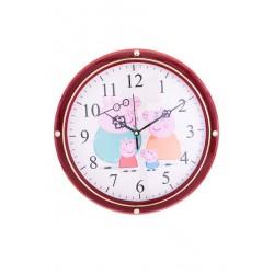 N-5604 Часы настенные детские Свинка Пеппа