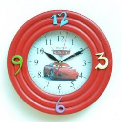 N-5606 Часы настенные детские Тачки