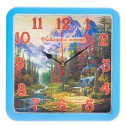 N-5809 Часы настенные Рыбацкая тематика