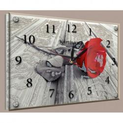 N-5887 Часы картина 30х40см