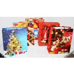 N-5914 Пакет новогодний 18х22х8 см