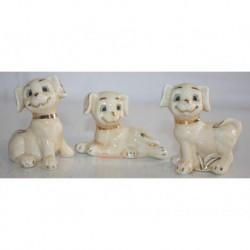 N-6040 Статуэтка собака 3 шт в упаковке
