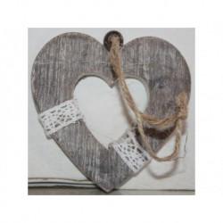 N-6077 Новогодняя игрушка на ёлку Сердце