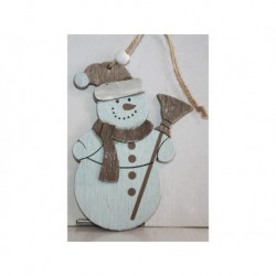 N-6080 Новогодняя игрушка на ёлку Снеговик