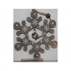 N-6081 Новогодняя игрушка на ёлку Снежинка