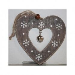 N-6084 Новогодняя игрушка на ёлку Сердце