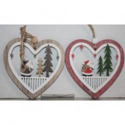 N-6085 Новогодняя игрушка на ёлку Сердце