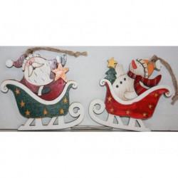 N-6090 Новогодняя игрушка на ёлку Дед мороз