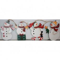 N-6091 Новогодняя игрушка на Снеговик