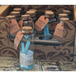 N-6101 Бутылочки с пожеланиями 12шт