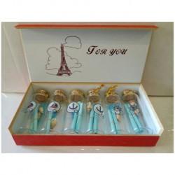 N-6102 Бутылочки с пожеланиями 6шт