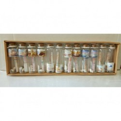 N-6104 Бутылочки с пожеланиями 12шт