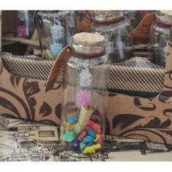N-6107 Бутылочки с пожеланиями 12шт