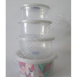 N-1058 Набор контейнеров для еды пласмас