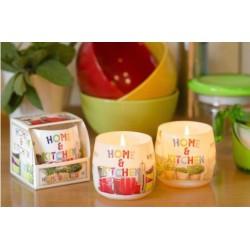 N-6619 Свеча в стакане ароматизированная Ароматная кухня 1