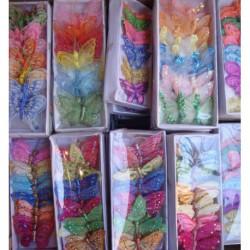 N-7221 Декоративные бабочки 24 шт.