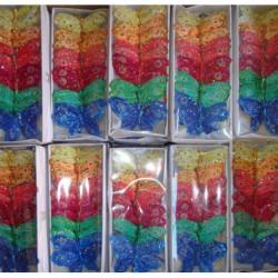 N-7222 Декоративные бабочки 24 шт.