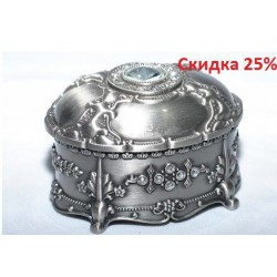 N-7654 Шкатулка металлическая