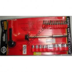 N-4001 набор ключей 25 шт головок