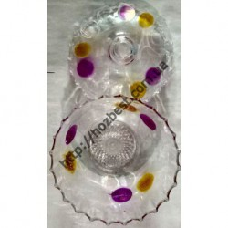 N-4324 сахарница прозрачная