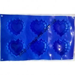 N-4321 форма силиконовая сердечко